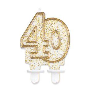 Godan Tortová sviečka 40 - zlatá