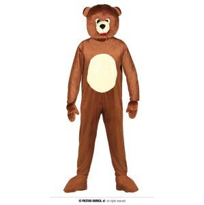 Guirca Kostým Medveď Veľkosť - dospelý: L