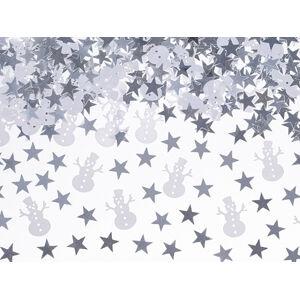 PartyDeco Konfety - Vianočné