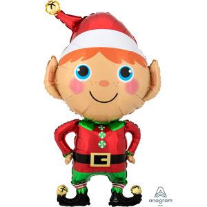 Amscan Fóliový balón vianočný Elf