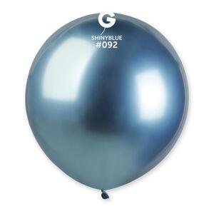 Gemar Balónik chrómový modrý 48 cm