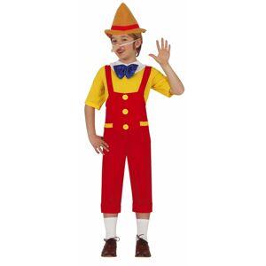 Guirca Detský kostým - Pinocchio Veľkosť - deti: M