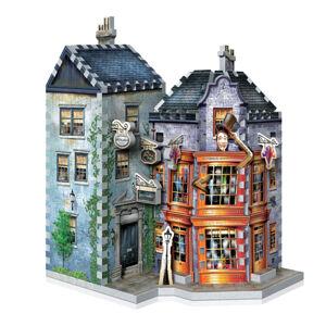 3D Wrebbit Harry Potter 3D puzzle - Weasleyovské výmysly a vynálezy