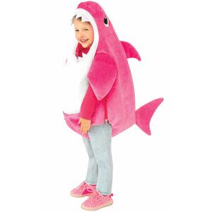 Rubies Detský kostým Baby Shark - ružový Veľkosť najmenší: 6 - 12 mesiacov