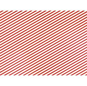 PartyDeco Baliaci papier červený 70 x 200 cm