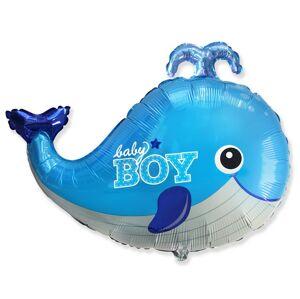 Godan Fóliový balón Veľryba - Baby Boy  60 cm