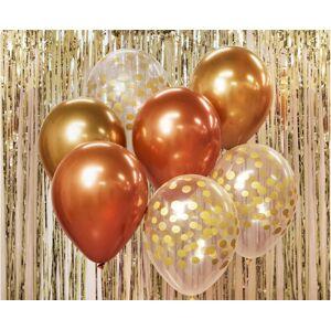 Godan Balónová kytica - zlaté odtiene 7 ks