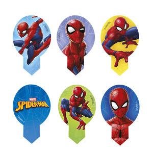 Dekora Sada jedlých dekorácií na tortu - Spiderman 6,5 x 4 cm