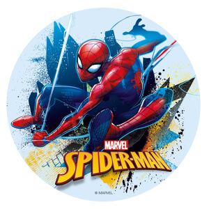 Dekora Jedlý papier bez cukru -  Spiderman 16 cm