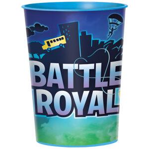 Amscan Plastový pohár - Battle Royal 473 ml