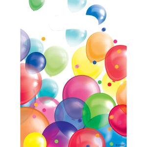 Amscan Darčekové tašky - pastelové balóny 8 ks