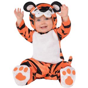 Amscan Detský kostým pre najmenších - Malý Tigrík Veľkosť najmenší: 12 - 24 mesiacov