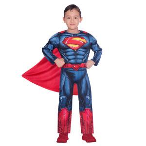 Amscan Detský kostým - Superman Classic Veľkosť - deti: 4 - 6 rokov
