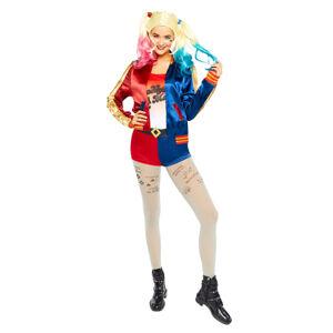 Amscan Dámsky kostým - Harley Quinn Suicide Squad Veľkosť - dospelý: L