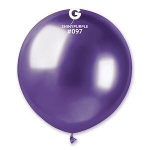 Gemar Chrómový balón - fialový 48 cm
