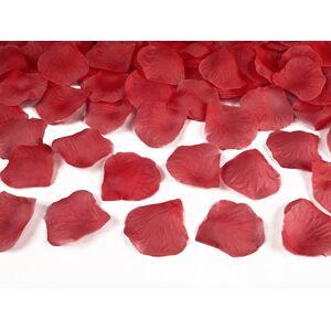 PartyDeco Lupene ruží červené 500 ks