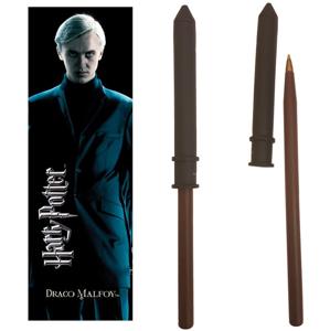 Noble Prútikové pero a záložka Draca Malfoya