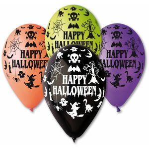 Gemar Latexový balón - Happy Halloween 30 cm