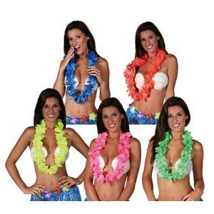 Guirca Havajský veniec - neon