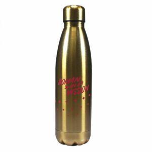 Half Moon Bay Kovová fľaša Woman on a mission - Wonder Woman 500 ml