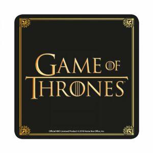 Half Moon Bay Podtácka Game of Thrones - čiernozlatá
