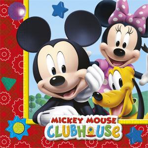 Procos Servítky Mickey Mouse Clubhouse 33 x 33 20 ks